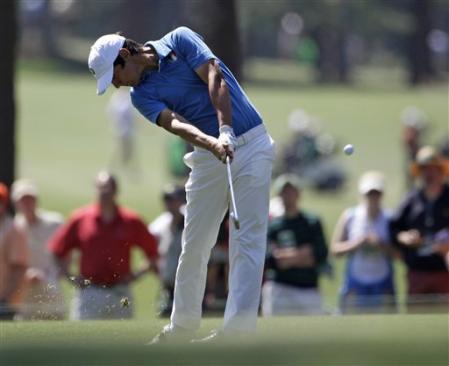 Manassero golf swing